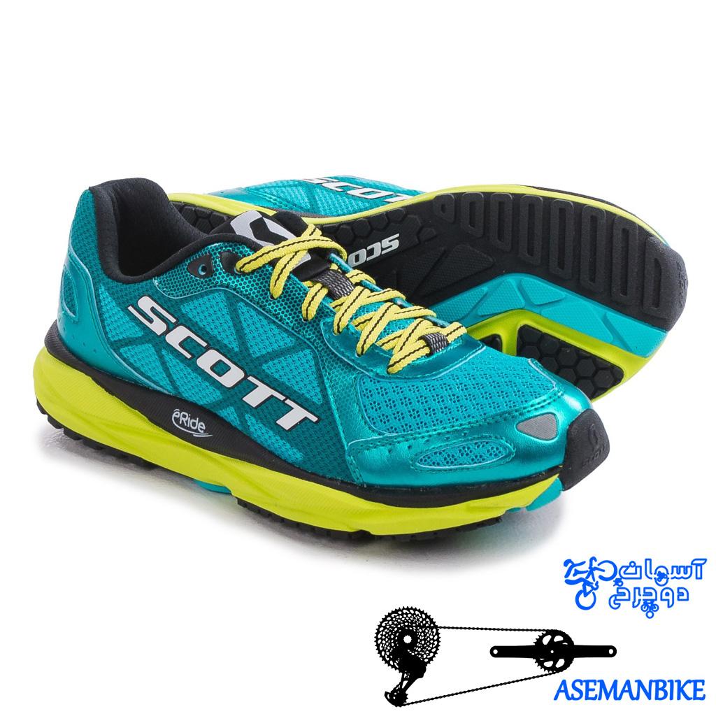 کفش پیاده روی زنانه اسکات مدل ای اف پلاس ترینر 2017 Scott Women's Shoe Running Train AF+ Trainer