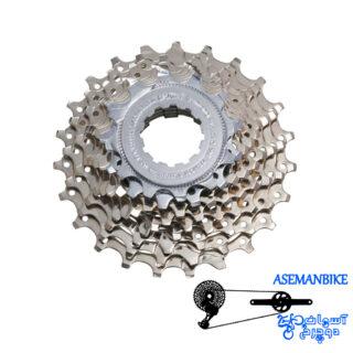 خودرو شیمانو تیاگرا دوچرخه کورسی جاده 9 سرعته 11-25 Shimano Tiagra CS-HG50 9 Speed