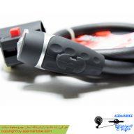 قفل کابلی دوچرخه اوکی مدل 710 ام مشکی OK Cable Lock M710