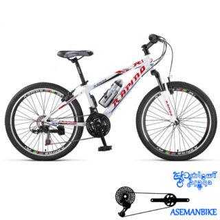 دوچرخه کوهستان رپیدو مدل R1 سایز 24 سال 2016 Rapido R1