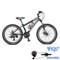 دوچرخه کوهستان رپیدو مدل R4 سایز 24 سال 2016 Rapido R4