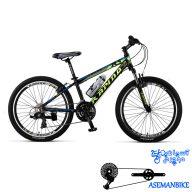 دوچرخه کوهستان رپیدو مدل R5 سایز 24 سال 2016 Rapido R5