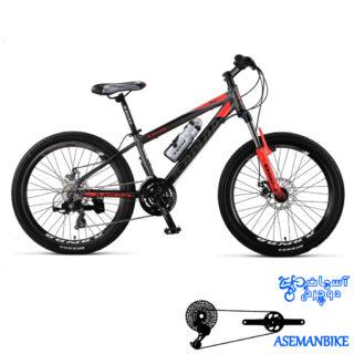دوچرخه کوهستان رپیدو مدل R6 سایز 24 سال 2016 Rapido R6