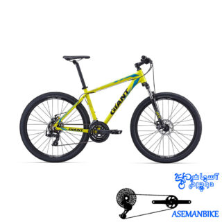 دوچرخه کوهستان دو منظوره ترمز هیدرولیکی جاینت مدل ای تی ایکس 2 سایز 27.5 Giant ATX 27.5 2 2016