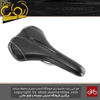 زین دوچرخه جاینت مدل کانکت آپ رایت مشکی سفید Giant Saddle Connect Upright
