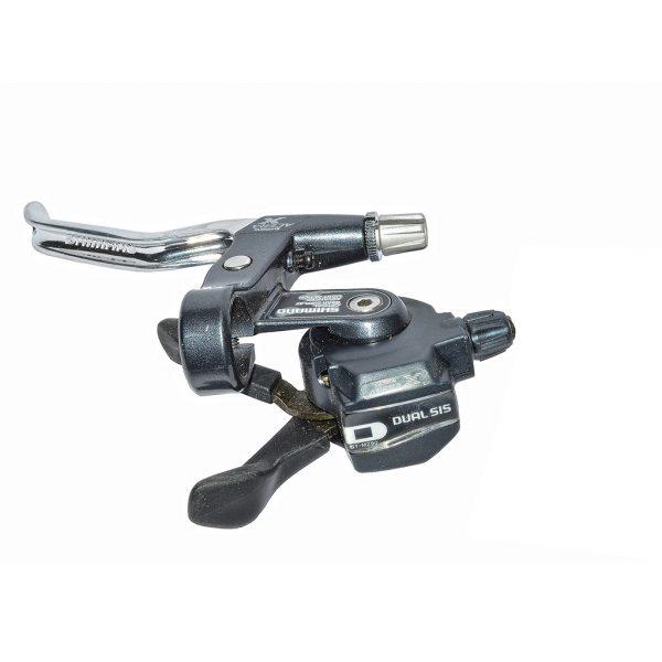 دسته دنده و ترمز دوچرخه شیمانو مدل آسرا ایکس Shimano Brakeset Acera X ST-M290