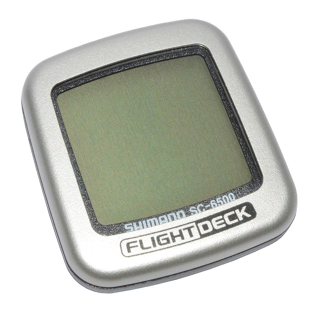 كامپيوتر دوچرخه شيمانو مدل فلايت دك Shimano Computer Flight Deck SC-6500