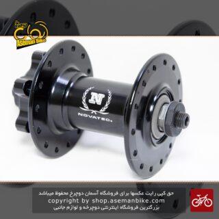 توپی جلو دوچرخه نواتک آلومینیومی 28 سوراخ 6 پیچ لایت Front Hub Novatec orgiranl disc 6 bolt 28 hole Light