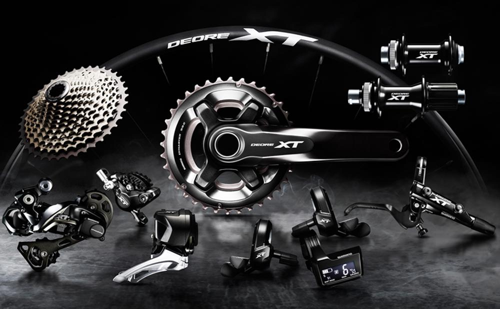 ست دنده برقی شیمانو Shimano XT M8050 Di2