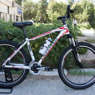 دوچرخه کوهستان کنندل مدل پسیفیک اف وان سفید سایز 26 2017 Cannondell Mountain Bicycle Pacific F1 26 2017