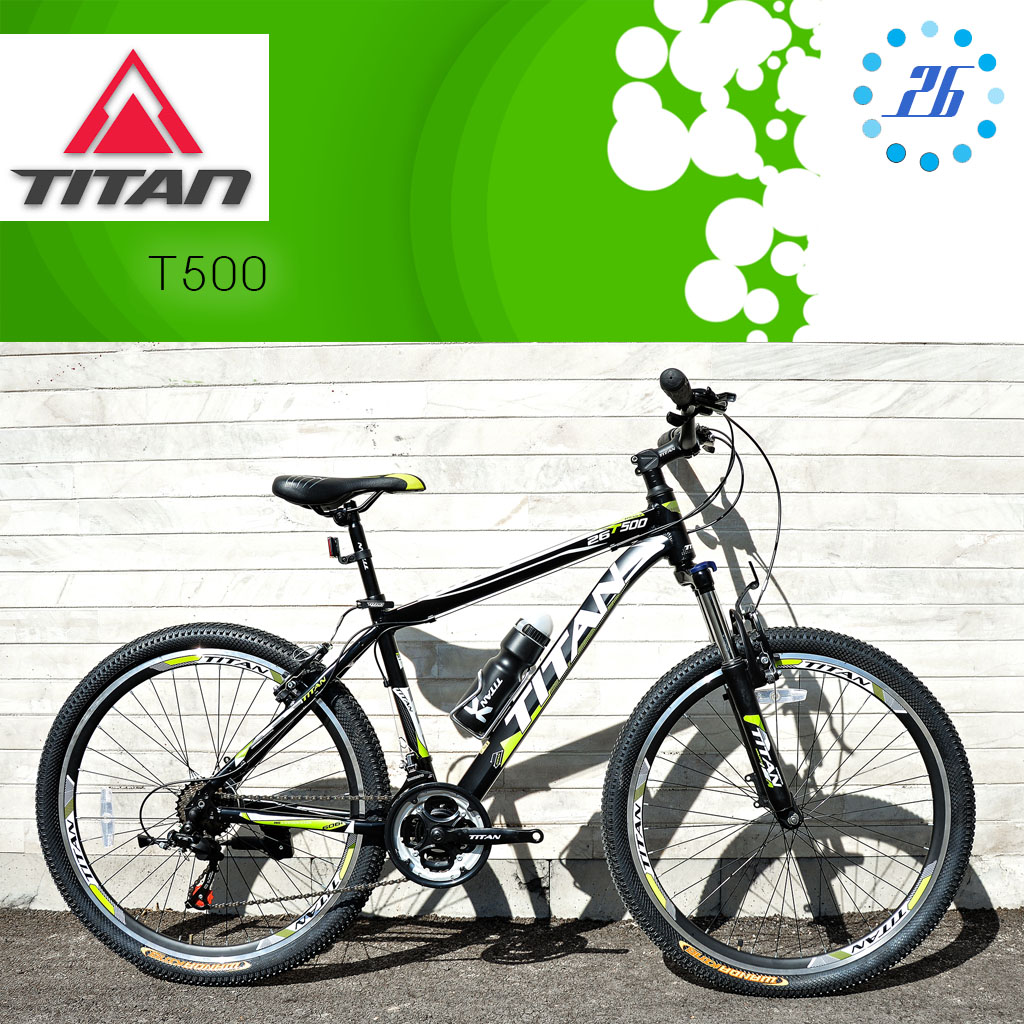 دوچرخه کوهستان تایتان مدل تی 500 سایز 26 Titan Mountain Bike T500 26