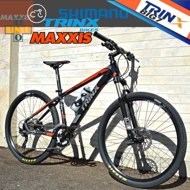 دوچرخه کوهستان حرفه ای ترینکس مدل بیگ سون بی 1000 30 دنده طراحی ایتالیا سایز 27.5 Trinx Big Seven B1000 Designed in Italy 2016