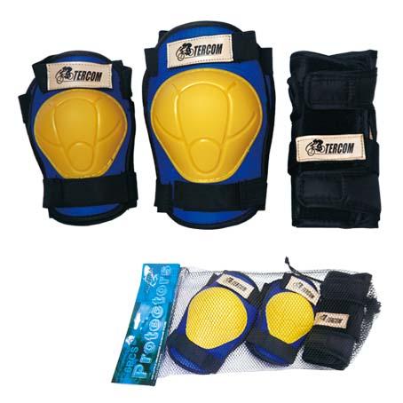 ست کامل زانو بند آرنج بند و محافظ دست ترکام Tercom Protector Set