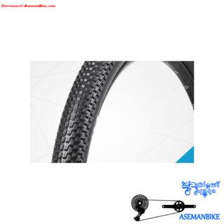 تایر دوچرخه وی رابر ابریشمی تاشو مدل 6 Vee Rubber Tire Folding Bead 6