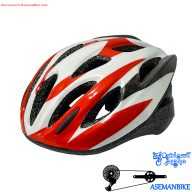 کلاه دوچرخه سواری کمپ سفید و قرمز Camp Helmet White Red