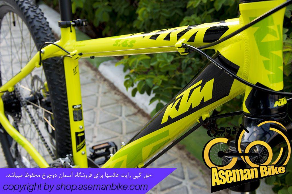 دوچرخه کوهستان کی تی ام مدل الترا 5.65 سایز 27.5 KTM Mountain Bike ULTRA 5.65 24G 27.5 2017