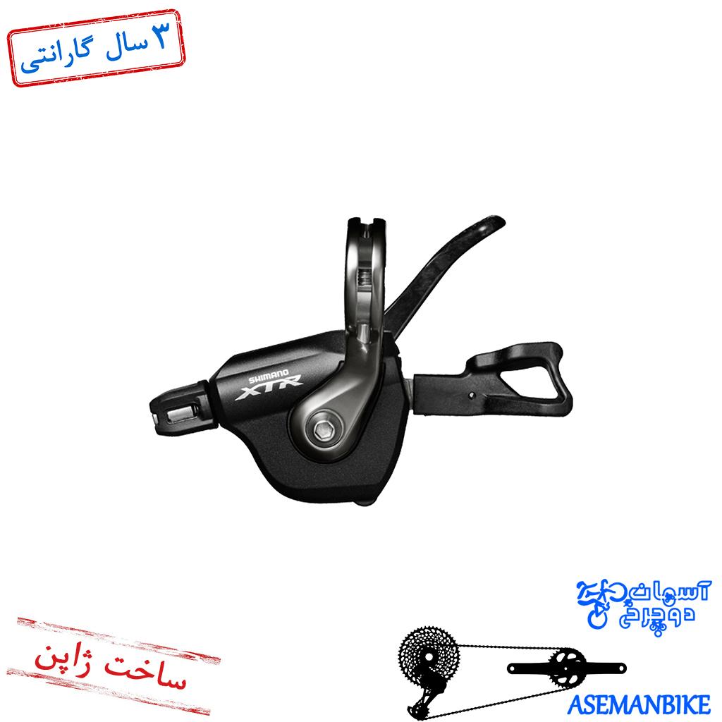 دسته دنده شیمانو چپ ایکس تی ار 2/3 سرعته Shimano XTR SL-M9000 2/3 SPD Shift Lever