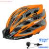 کلاه دوچرخه سواری بونیتو نارنجی و خاکستری Helmet Bonito Orange Gray