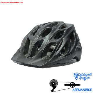 کلاه دوچرخه سواری جاینت مدل رلم مشکی Giant Helmet REALM Black