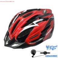 کلاه دوچرخه سواری اینتنس قرمز Helmet Bicycle Intense Red