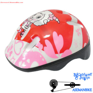 کلاه دوچرخه سواری بچه گانه صورتی Child Helmet Bicycle Pink