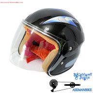 کلاه موتوری دوچرخه سواری بچه گانه کاتی سایکل Helmet Bicycle Cathay Cycle
