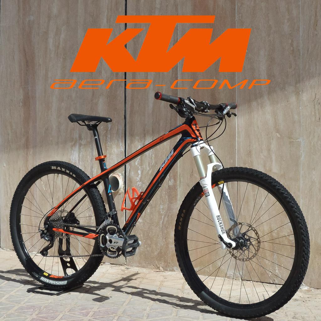 دوچرخه کوهستان کی تی ام مدل آرا کامپ سایز 27.5 KTM Mountain Bike Aera Comp 27.5