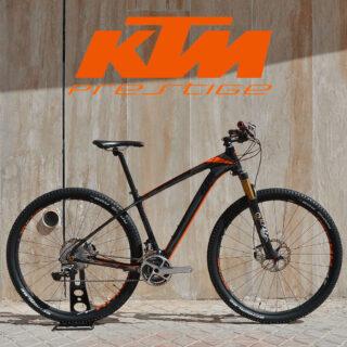 دوچرخه کوهستان کی تی ام کربن کار کرده مدل مایرون پرستیژ سایز 29 KTM Mountain Bike Myroon Prestige 29
