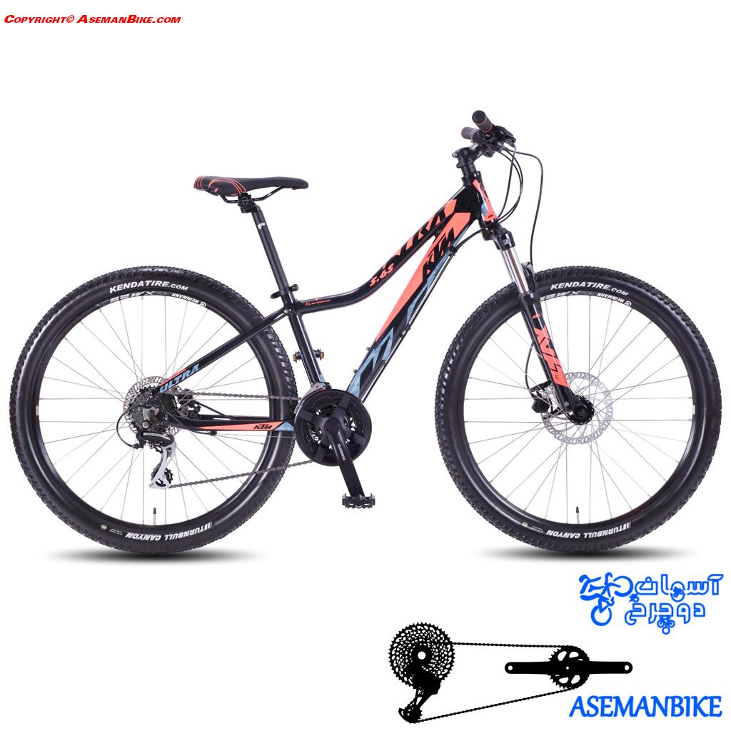 دوچرخه کوهستان کی تی ام بانوان مدل الترا 5.65 سایز 27.5 2017 KTM Mountain Bike Lady ULTRA 5.65 24G 27.5 2017