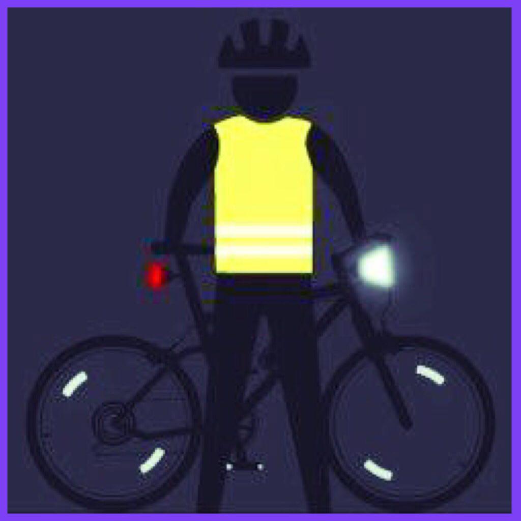 دوچرخه سواری شبانه