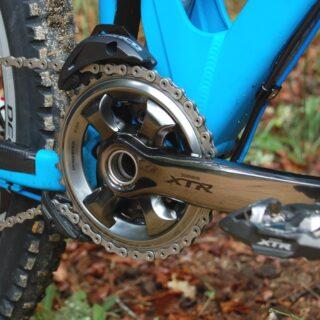 طبق قامه دوچرخه کوهستان شیمانو ایکس تی ار 9000 Shimano XTR FC-M9000-1 Crankarms
