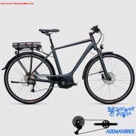 دوچرخه برقی کیوب مدل تورینگ هیبرید سایز 28 2017 Cube Electric Bicycle Touring Hybrid Pro 28 2017