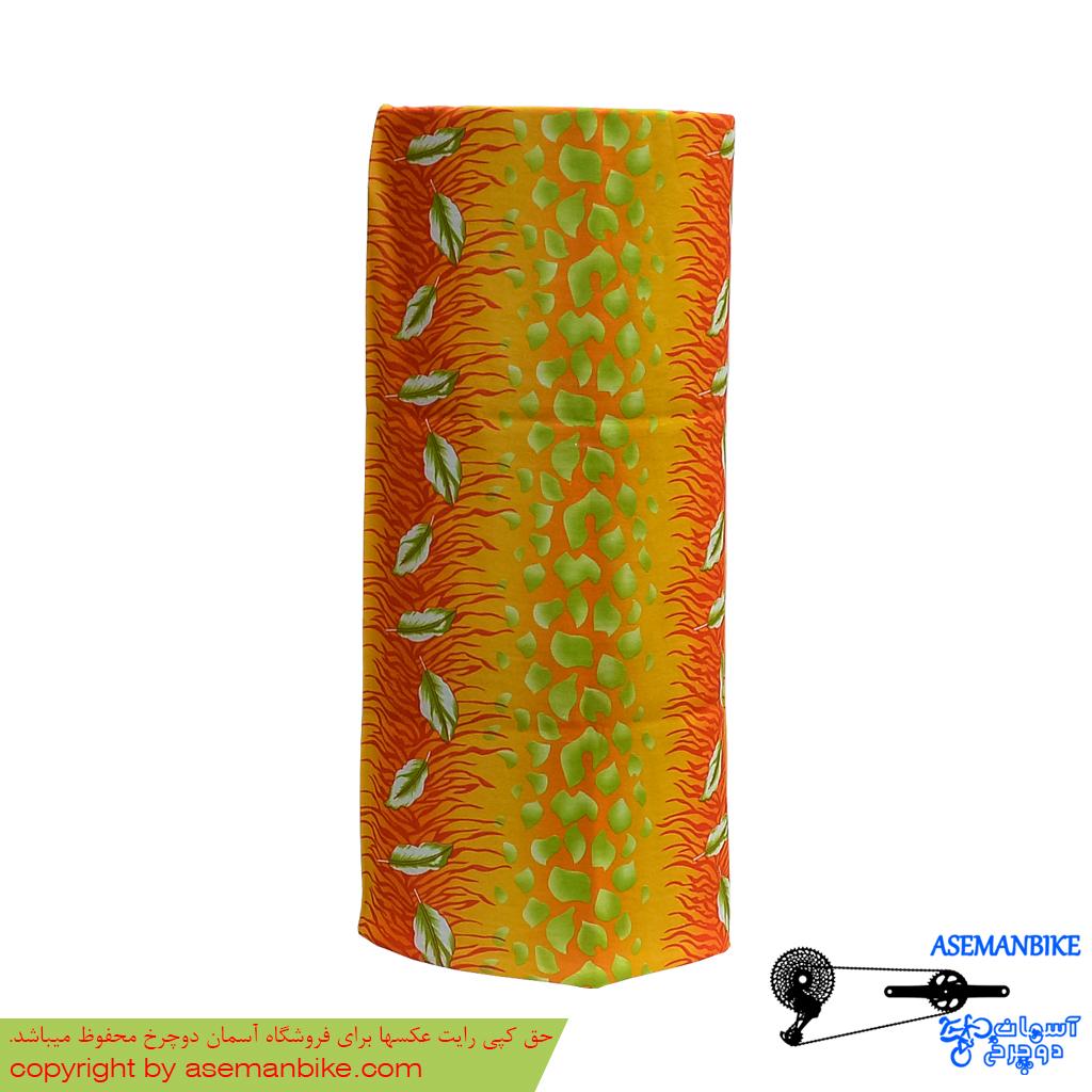 دستمال سر و گردن اسکارف مدل برگ Scarf Headwear Leaf