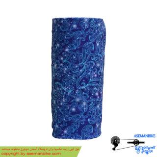 دستمال سر و گردن باف مدل آبی بهشتی Buff Headwear Paradise Blue