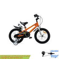 دوچرخه شهري قناري مدل فری استایل نارنجی سايز 12 Canary City Bicycle Freestyle 12