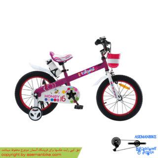 دوچرخه شهري قناري مدل هانی بنفش سايز 16 Canary City Bicycle Honey 16