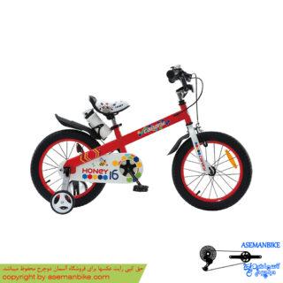 دوچرخه شهري قناري مدل هانی قرمز سايز 16 Canary City Bicycle Honey 16