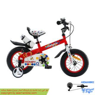 دوچرخه شهري قناري مدل هانی قرمز سايز 12 Canary City Bicycle Honey 12