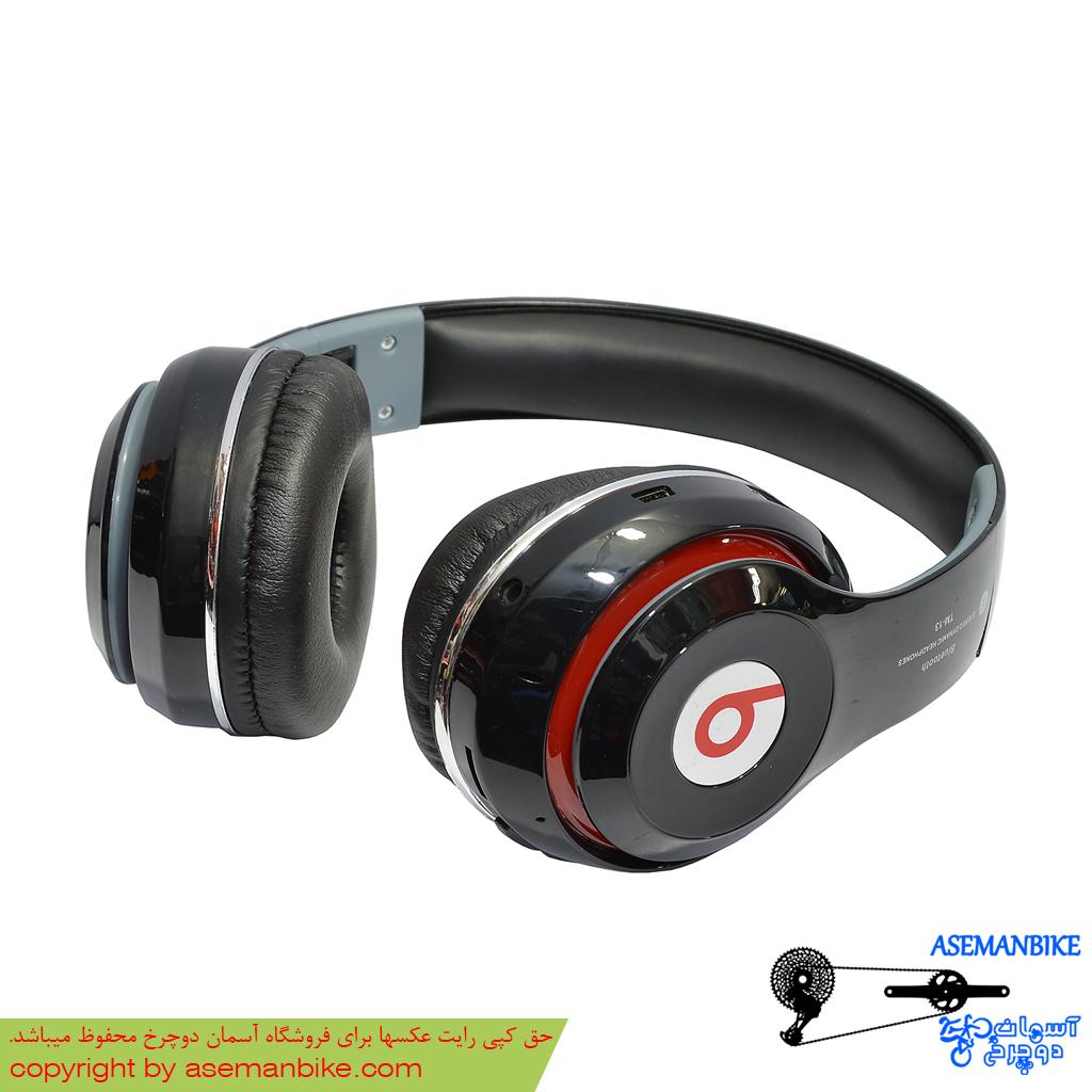 هدفون موزیک پلیر رم خور بلوتوثی بیتس مدل تی ام 13 Beats Headphone Music Player TF Card and Bluetooth TM13