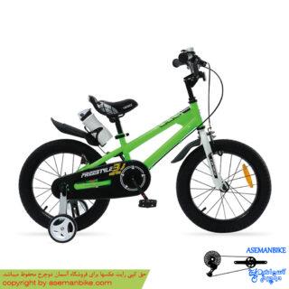 دوچرخه شهري قناري مدل فری استایل سبز سايز 12 Canary City Bicycle Freestyle 12