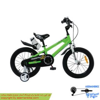 دوچرخه شهري قناري مدل فری استایل سبز سايز 16 Canary City Bicycle Freestyle 16