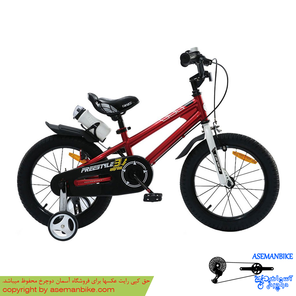 دوچرخه شهري قناري مدل فری استایل قرمز سايز 16 Canary City Bicycle Freestyle 16