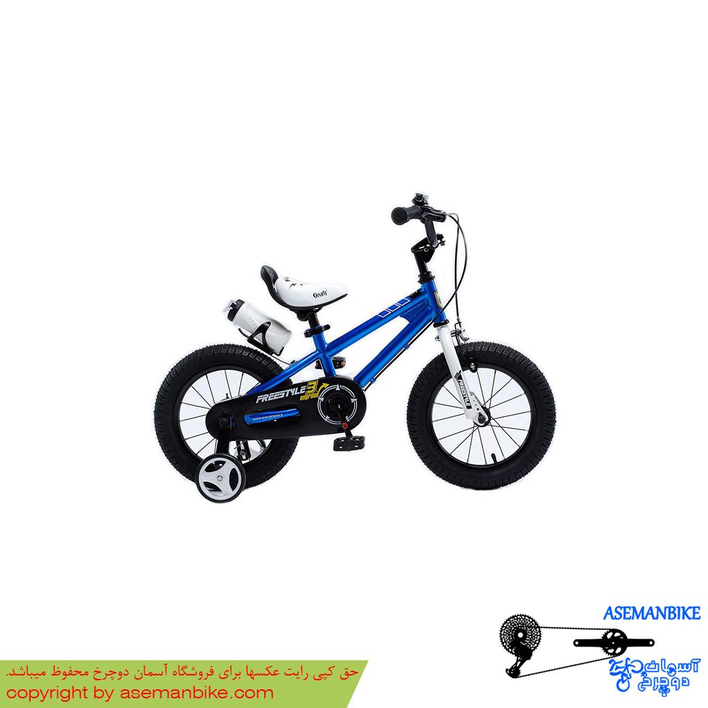 دوچرخه شهري قناري مدل فری استایل آبی سايز 12 Canary City Bicycle Freestyle 12