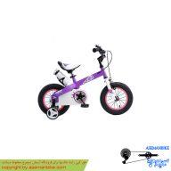 دوچرخه شهري قناري مدل هانی صورتی سايز 18 Canary City Bicycle Honey 18