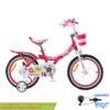 دوچرخه شهري قناري مدل ژنی قرمز سايز 16 Canary City Bicycle Jenny 16