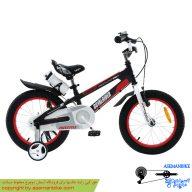 دوچرخه شهري قناري مدل اسپیس شماره 1 مشکی قرمز سايز 12 Canary City Bicycle Space No.1 12