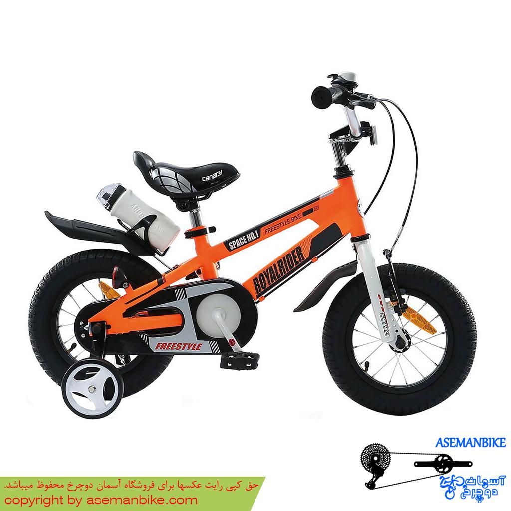 دوچرخه شهری قناری مدل اسپیس شماره 1 نارنجی سایز 12 Canary City Bicycle Space No.1 12