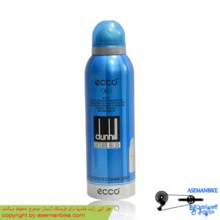 اسپری خوشبو کننده بدن اکو بزرگ مدل دانهیل دیزایر بلو Ecco Body Spray Dunhill Desire Blue