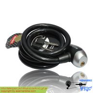 قفل دوچرخه اکو مشکی Ecco Cable Lock Black