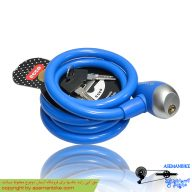 قفل دوچرخه اکو آبی Ecco Cable Lock Blue